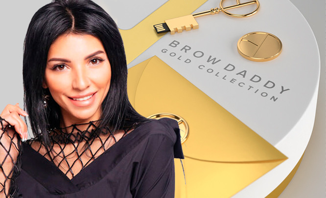 Обзор Brow Daddy Gold Collection by Perma Blend от Роксаны Мусиной