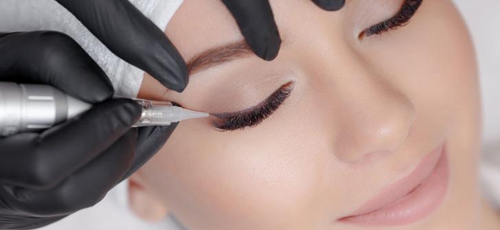 Особенности перманентного макияжа глаз: виды татуажа нижнего и верхнего века, противопоказания, уход