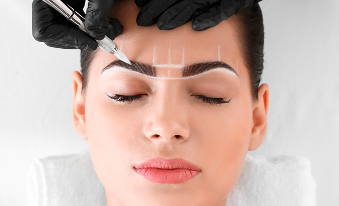 Роль коррекции в технике перманентного макияжа