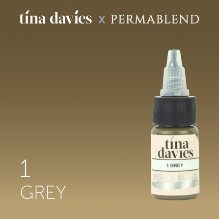 Tina Davies 'I Love INK' 1 Grey