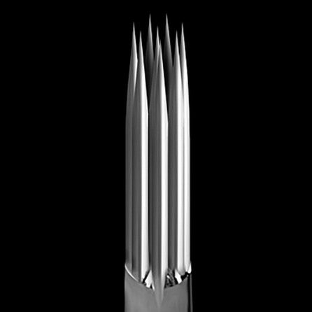 KWADRON 0.35mm long taper - round shader 5RS