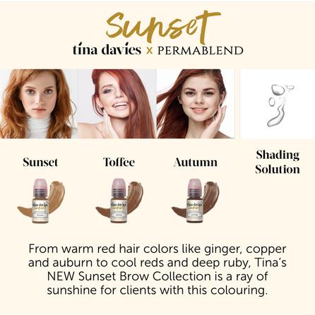 Tina Davies Sunset Collection