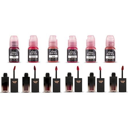 Tina Davies ENVY Lip Collection