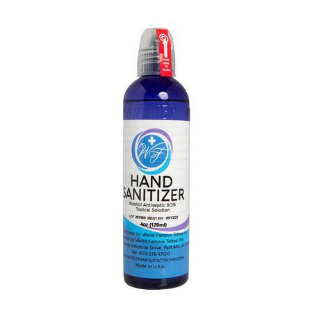 World Famous Hand Sanitizer - дезинфекция рук